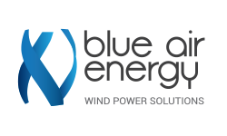 blue air energy logo